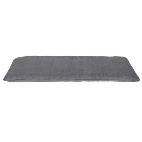 vtwonen Shop Kissen grau Baumwolle 120x50x6cm
