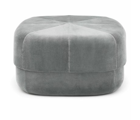 Normann Copenhagen Powder Circus Gray Velours Large 35x65x65cm
