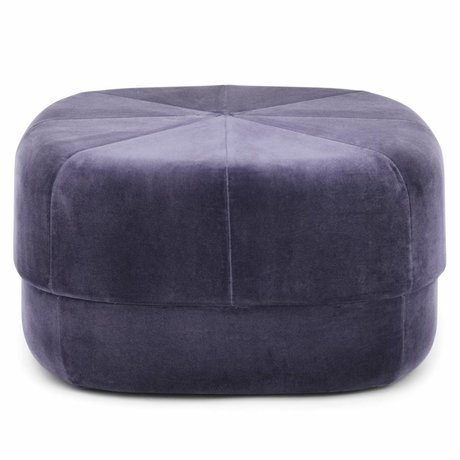 Normann Copenhagen Powder Circus purple velours large 35x65x65cm