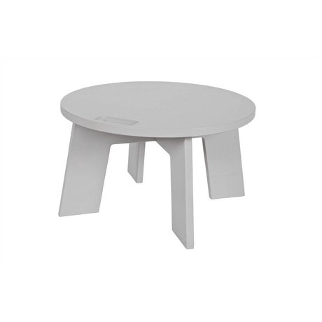 vtwonen Table basse Grip Ø60x34cm pin gris
