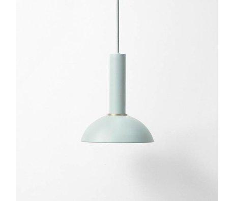 Ferm Living Espoir lampe pendentif haute blauw metal poussiéreux