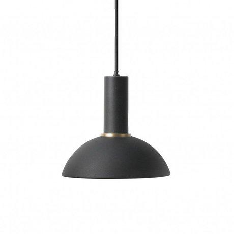Ferm Living Hanglamp Hoop low zwart metaal
