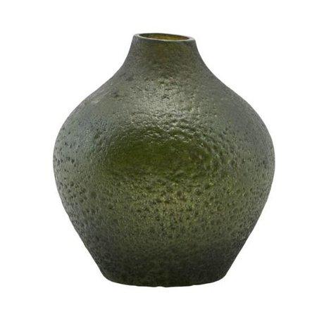 Housedoctor Vaas Forrest groen glas 9x10cm