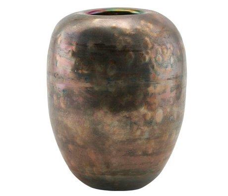 Housedoctor Spiegelglas Vase 14,5x19cm
