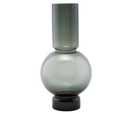 Housedoctor Bubble-Glas-Vase grau 17,5x35cm