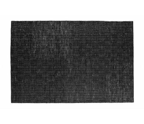 BePureHome Vloerkleed Scenes soft zwart jute 170x240cm