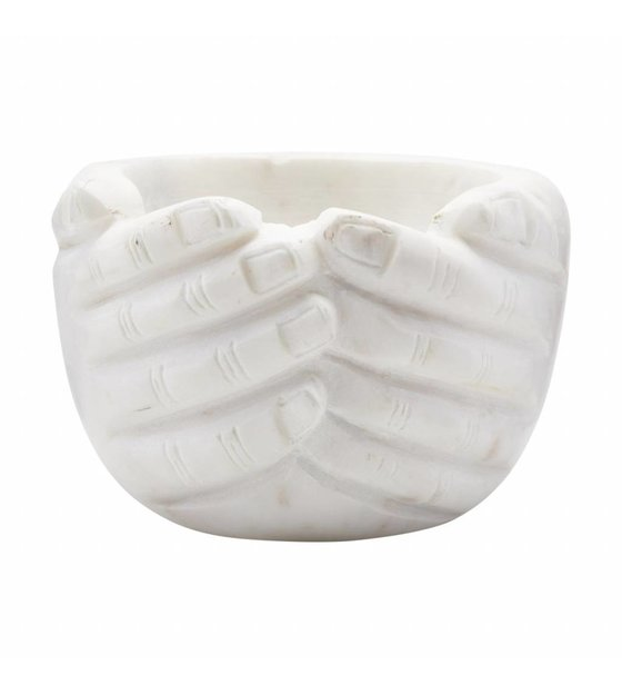 Stupendous Bowl Hands Marble 15X15X10Cm Ibusinesslaw Wood Chair Design Ideas Ibusinesslaworg