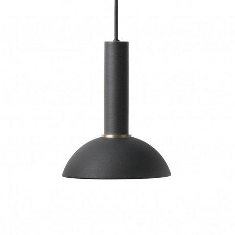 Ferm Living Espoir lampe pendentif haute métal noir