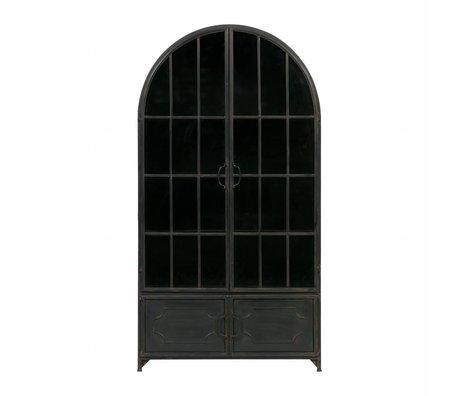 BePureHome Arcade 172,5x91,5x37cm en métal noir Cabinet