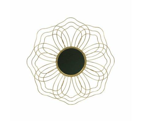 BePureHome Miroir M beau métal or antique laiton 3,5x50x50cm