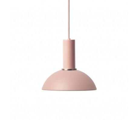 Ferm Living Hanglamp Hoop low roze metaal