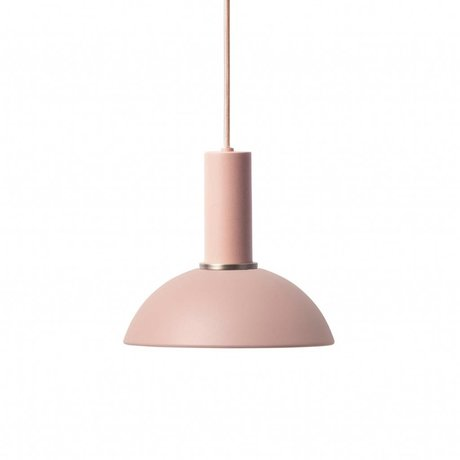 Ferm Living Lampe à suspension espoir métal à faible rose