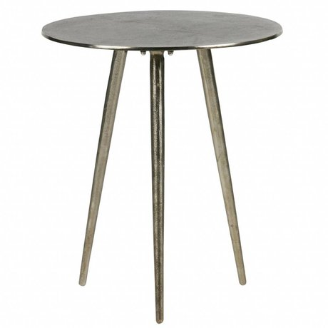 BePureHome Table d'appoint burished métal or brillant 47,5x40x40cm