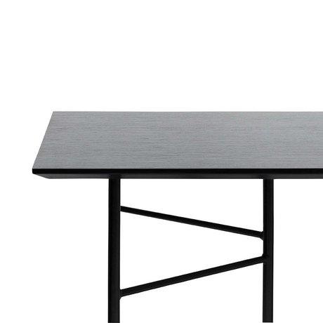 Ferm Living Mingle table top black veneer 210x90x2cm