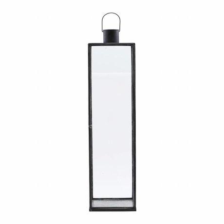 Housedoctor Lantern Narrow black iron 20x20x79cm