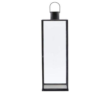 Housedoctor Lantern Narrow black iron 20x20x60,5cm