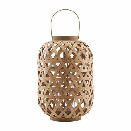 Housedoctor 31,5x45cm lanterne de bambou Grome