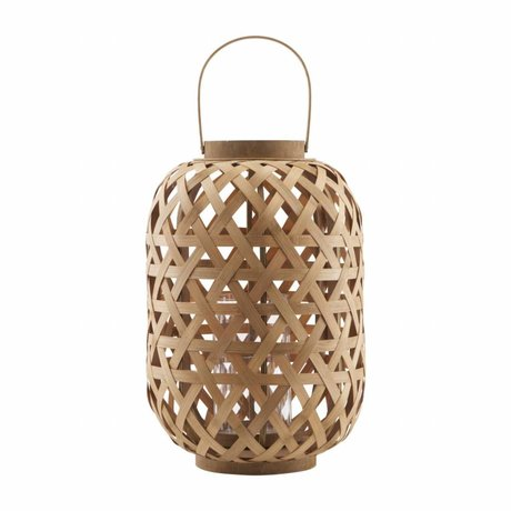 Housedoctor Lantern Grome bamboo 31,5x45cm