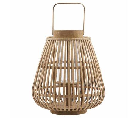 Housedoctor 30x33cm lanterne de bambou Balu