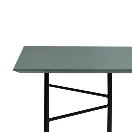 Ferm Living Mingle tabletop green linoleum 210x90x2cm