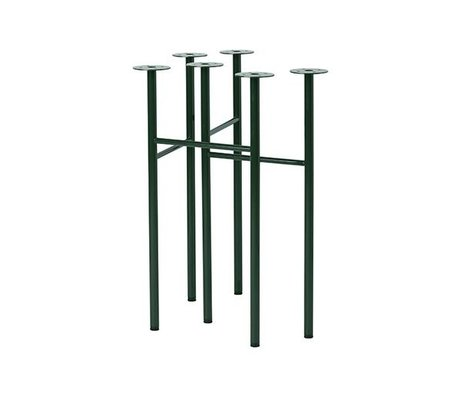 Ferm Living des pieds de table vert Mingle W48 jeu de 2
