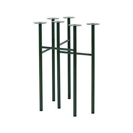 Ferm Living Mingle tafelpoten W48 groen set van 2