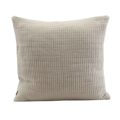 Housedoctor Cushion cover Lia sand color cotton 50x50cm