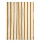 Ferm Living Kariertes Pinstripe senfgelb textile 160x120cm