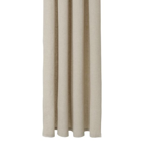 Ferm Living Chambray Baumwolle beige Vorhang 160x205cm