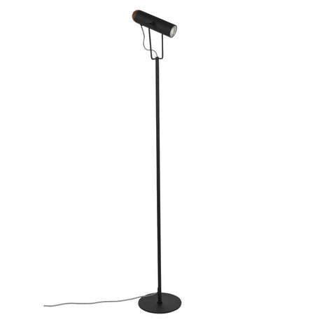 Zuiver Floor lamp Marlon black metal 20x20,5x134,5cm