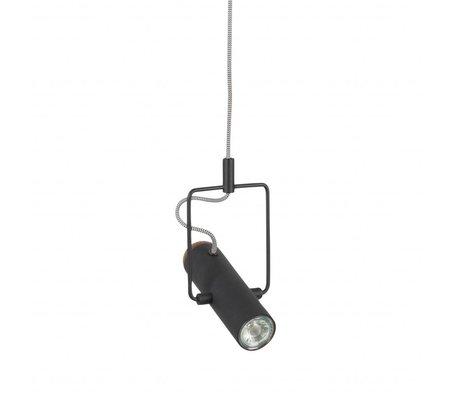 Zuiver Hanglamp Marlon zwart metaal 12x20,5x160cm