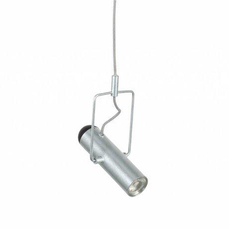Zuiver Hanglamp Marlon zilver metaal 12x20,5x160cm