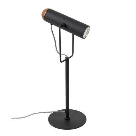 Zuiver Lampe de table métal noir Marlon 17x20,5x53cm