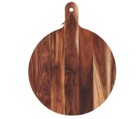 Housedoctor Coupe 1,5x¯50cm en bois naturel
