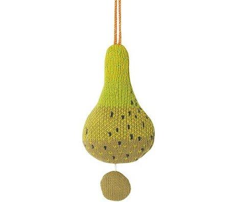 Ferm Living coton poire musique mobile Fruiticana Ø9cm