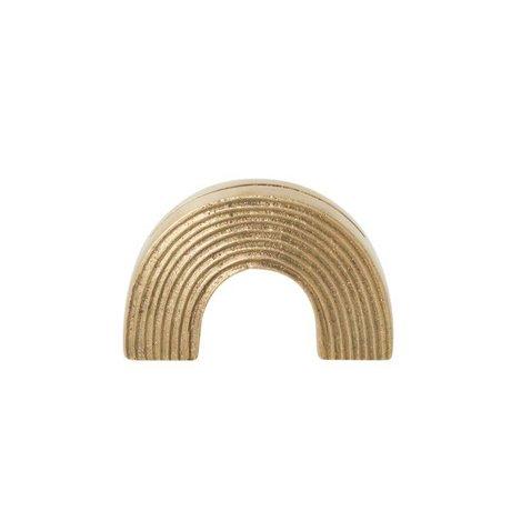 Ferm Living Carte Arc d'or standard en laiton massif 7,8x2,7x5cm