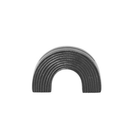 Ferm Living Arch Card Standard solid black 7,8x2,7x5cm