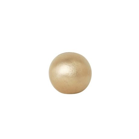 Ferm Living Cards stand Sphere brass gold solid Ø4,6x4,6cm