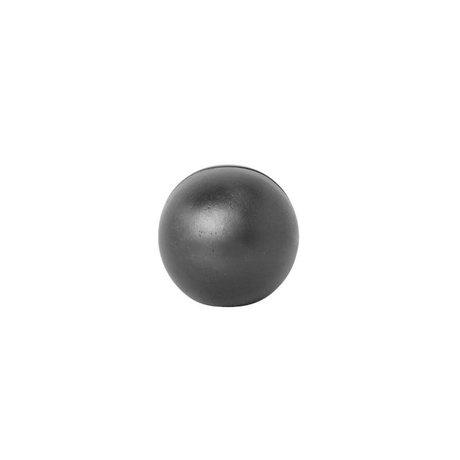 Ferm Living Card stand Sphere black solid Ø4.6x4.6cm