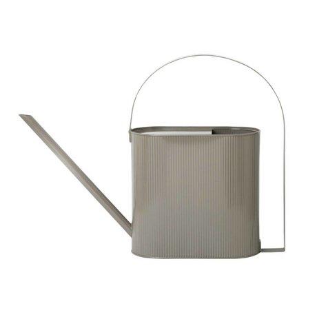 Ferm Living Watering can Bau gray zinc Large 56x13,5x41,5cm