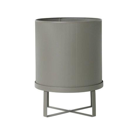 Ferm Living Pot Bau grijs zink Large Ø28x38cm