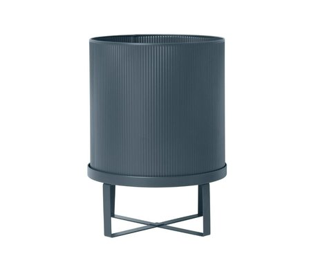 Ferm Living Grand pot Bau foncé Ø28x38cm