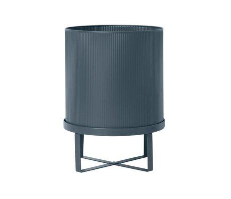 Ferm Living Pot Bau donkerblauw Large Ø28x38cm