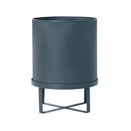 Ferm Living Pot Bau dark blue Large Ø28x38cm