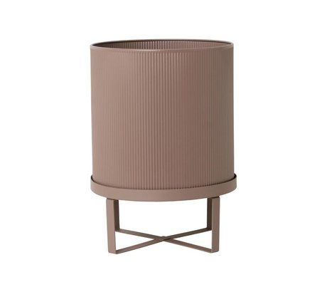 Ferm Living Pot Bau poussiéreux rose Grand Ø28x38cm