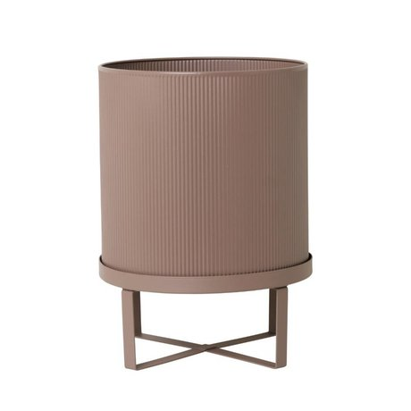 Ferm Living Pot Bau dusty roze Large Ø28x38cm