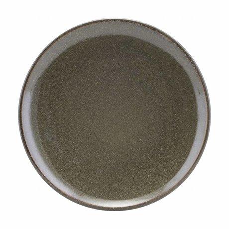 Housedoctor assiette de céramique verte du lac 27
