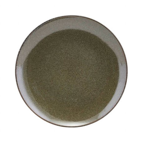 Housedoctor Breakfast plate Lake green ceramic ¯21,4