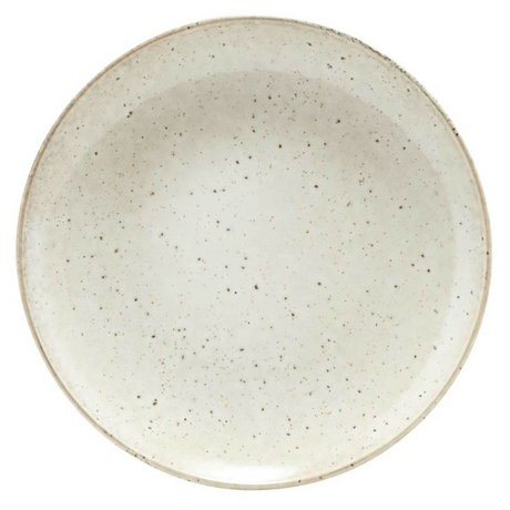 Housedoctor Dinner plate Lake gray ceramics ¯27