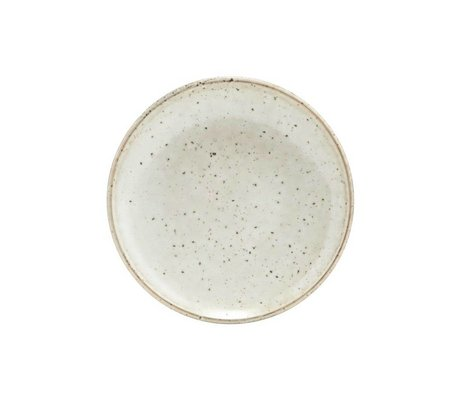Housedoctor Pastry plate Lake gray ceramics ¯15,2